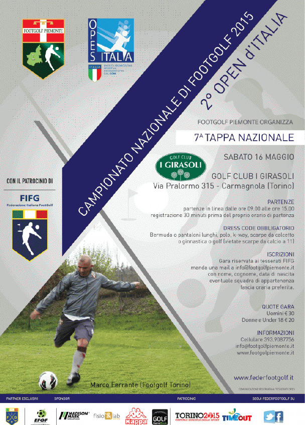 Image: 2° Open d'Italia di Footgolf
